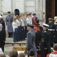 """""""Le prince William et le prince Harry à Londres le 12 novembre 2017 lors du Dimanche du Souvenir, commémoration sur le Cénotaphe de Whitehall des soldats tombés au champ d'honneur lors des deux Guerres mondiales."""""""