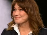 Carla Bruni-Sarkozy les larmes aux yeux, touchée par un message de Nicolas