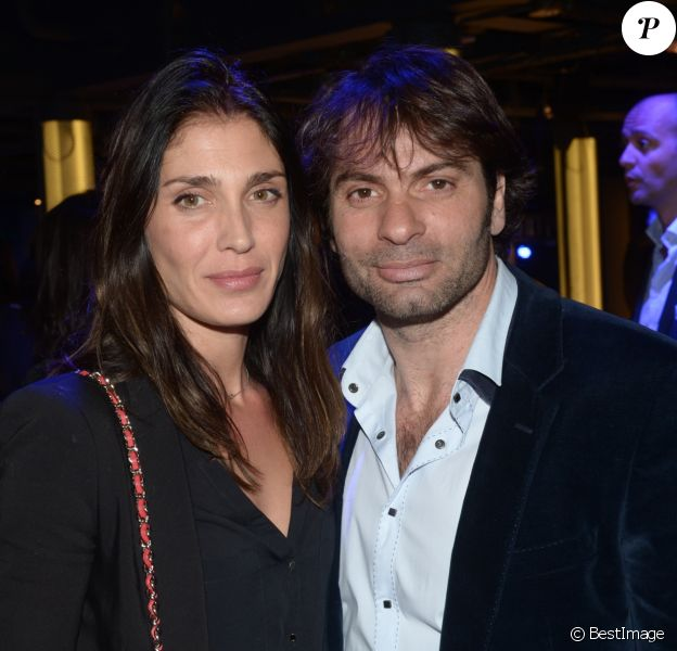 Christophe Dominici et sa femme Loretta - Soirée de lancement du Pop Up Store Mercedes Benz à Paris. Le 11 mars 2014