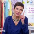 """Cristina Cordula choquée par Catherine, candidate des """"Reines du shopping"""" (M6), qui ne s'épile pas les aisselles. Episode diffusé mercredi 15 novembre 2017."""