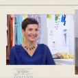 """Catherine surprend Cristina Cordula avec ses aisselles non épilées dans """"Les Reines du shopping"""" (M6), mercredi 15 novembre 2017."""