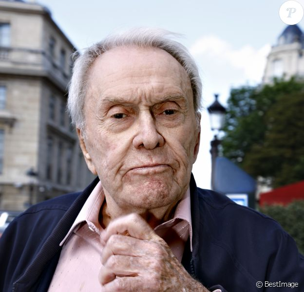 Portrait de Robert Hirsch 24/06/2014 - Paris