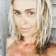 """""""Cécile de Ménibus, sans maquillage, en vacances à Noirmoutier-en-l'Île le 15 août 2016."""""""