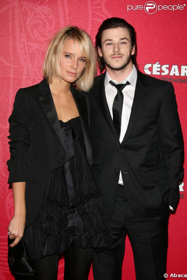 Gaspard Ulliel couple