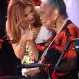 Roma Downey, Della Reese - Roma Downey reçoit son étoile sur le Walk of Fame à Hollywood, le 11 août 2016