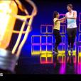 "Tatiana Silva, Jordan Mouillerac, Camille Lacourt et Hajiba Fahmy - prime de ""Danse avec les stars 8"", samedi 25 novembre 2017, TF1"