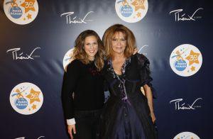 Adeline Blondieau et sa fille, Lorie Pester... au rendez-vous des Petits Princes !