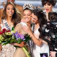 Miss Afrique du Sud, Demi-Leigh Nel-Peters, est couronnée Miss Univers 2017 - Finale du concours Miss Univers 2017 au Planet Hollywood Resort & Casino. Las Vegas, le 26 novembre 2017.