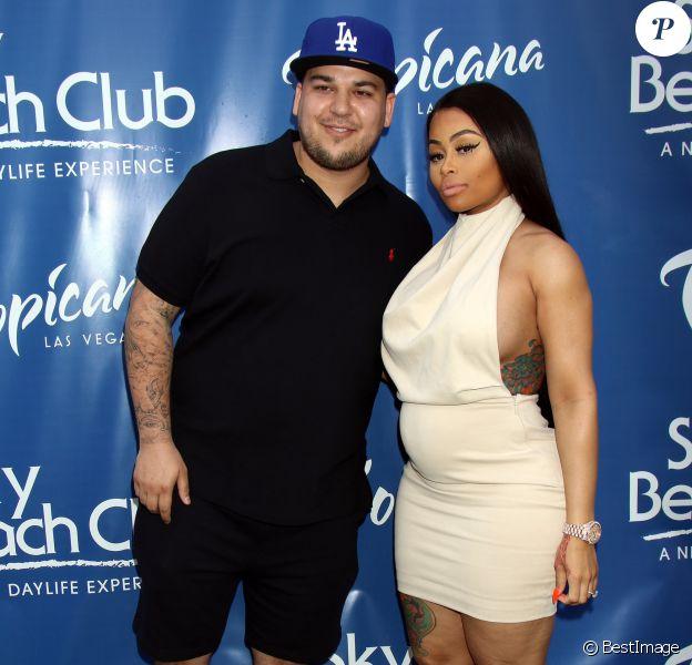 Rob Kardashian et Blac Chyna à Las Vegas, le 28 mai 2016