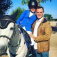 L'acteur Jérôme Bertin et sa fille sur Instagram.