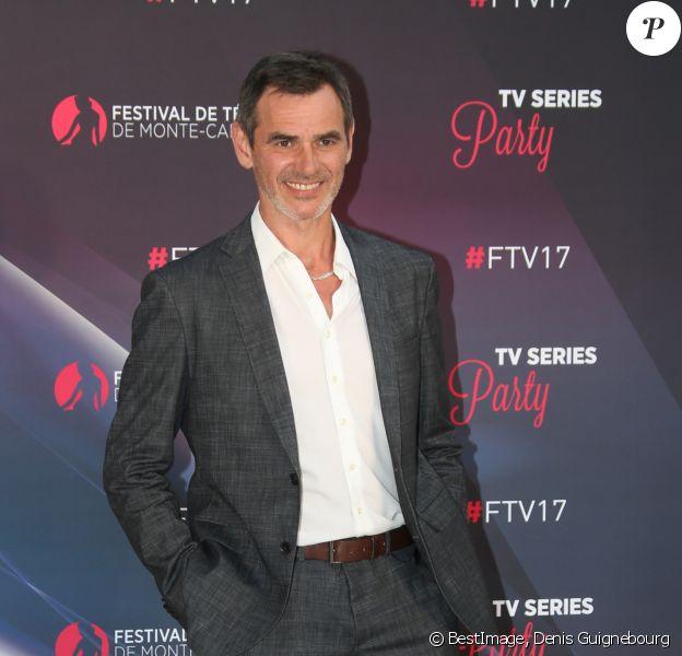 Jérôme Bertin - Photocall de la soirée 'Series Party' lors du 57ème Festival de télévision de Monte-Carlo le 17 juin 2017. © Denis Guignebourg/Bestimage