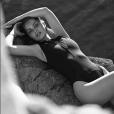 """""""Marie-Ange Casta présente sa collection de maillots de bain pour Calarena. Photo par Rayan Ayash."""""""