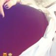 Emilie Fiorelli affiche son baby bump sur Instagram, 30 novembre 2017