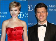 Scarlett Johansson, in love et en couple, officialise avec Colin Jost