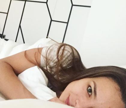 Marine Lorphelin se dévoile charmante au réveil, sans une once de maquillage !
