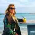Loana s'affiche toujours plus rayonnante sur les réseaux sociaux. 21 octobre 2017, Instagram