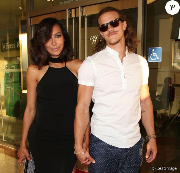 """Naya Rivera et son mari Ryan Dorsey lors de la soirée """"Raising The Bar To End Parkinson's"""" au Laurel Point à Studio City, le 27 juillet 2016."""