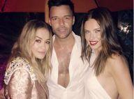Ricky Martin : Sexy et entouré de bombes à Art Basel Miami