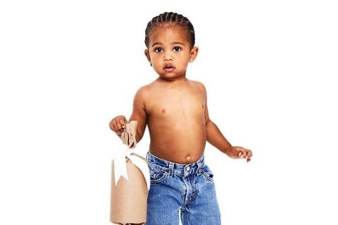Saint West : 20 photos (trop) craquantes du fils de Kim Kardashian et Kanye West