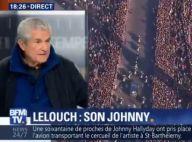 Obsèques de Johnny Hallyday : Claude Lelouch, critiqué pour avoir filmé, réagit