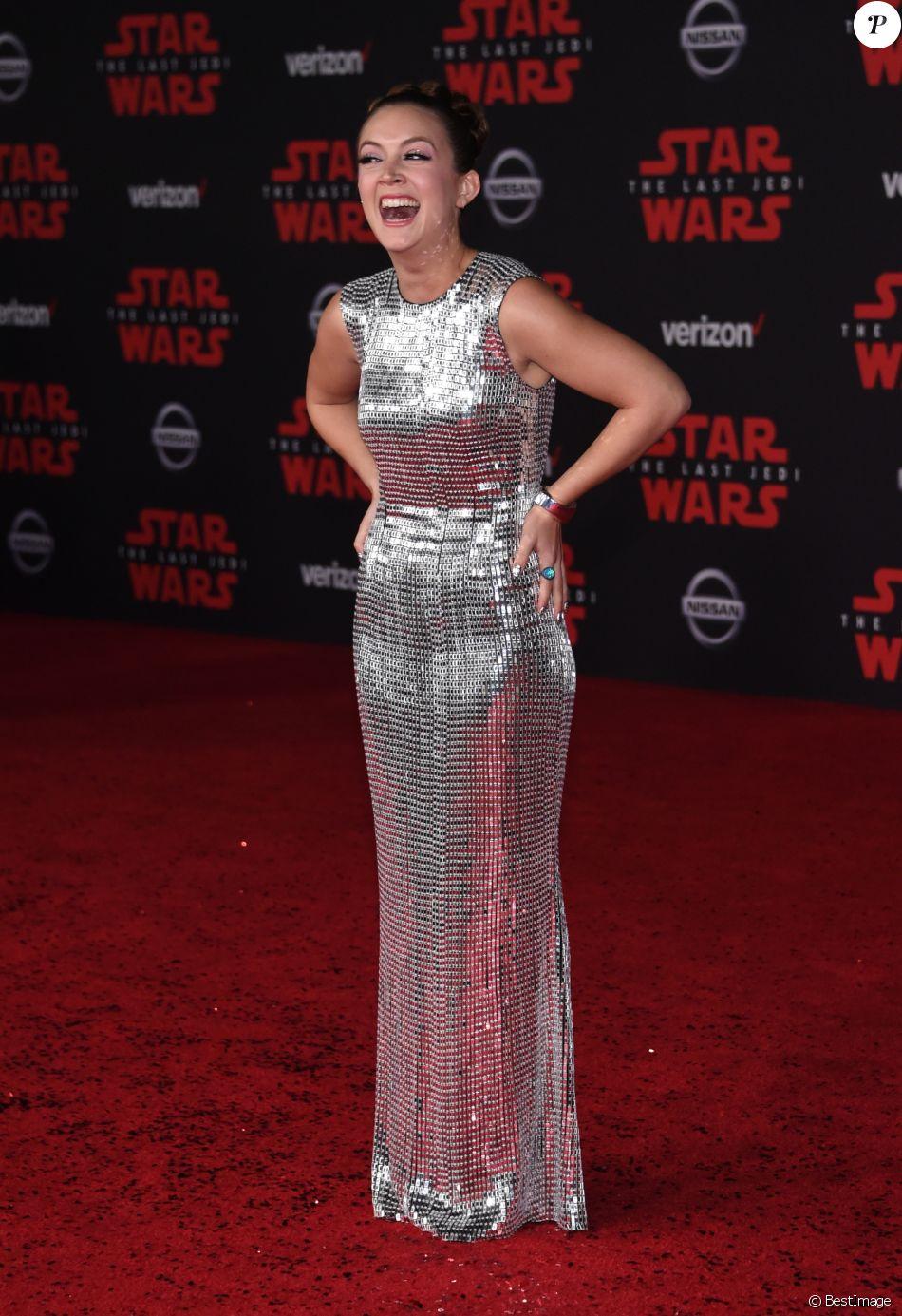 Billie Lourd - Première de 'Star Wars: The Last Jedi' au The Shrine Auditorium à Los Angeles, le 9 décembre 2017