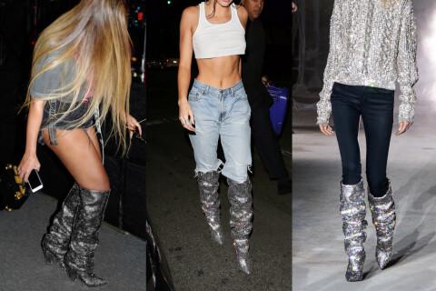 Beyoncé et Kendall Jenner se jettent sur les chaussures d'un mannequin