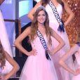 Les 30 Miss en tenue de gala - Concours Miss France 2018. Sur TF1, le 16 décembre 2017.