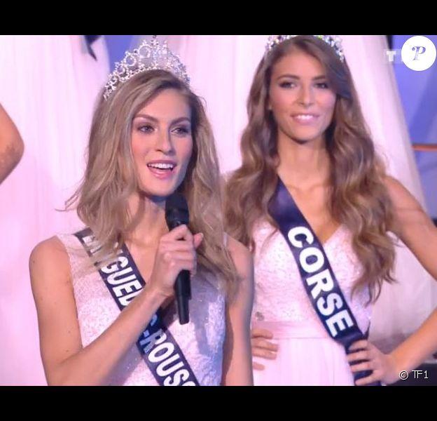Miss Languedoc-Roussillon : Alizée Rieu demi-finaliste - Concours Miss France 2018. Sur TF1, le 16 décembre 2017.