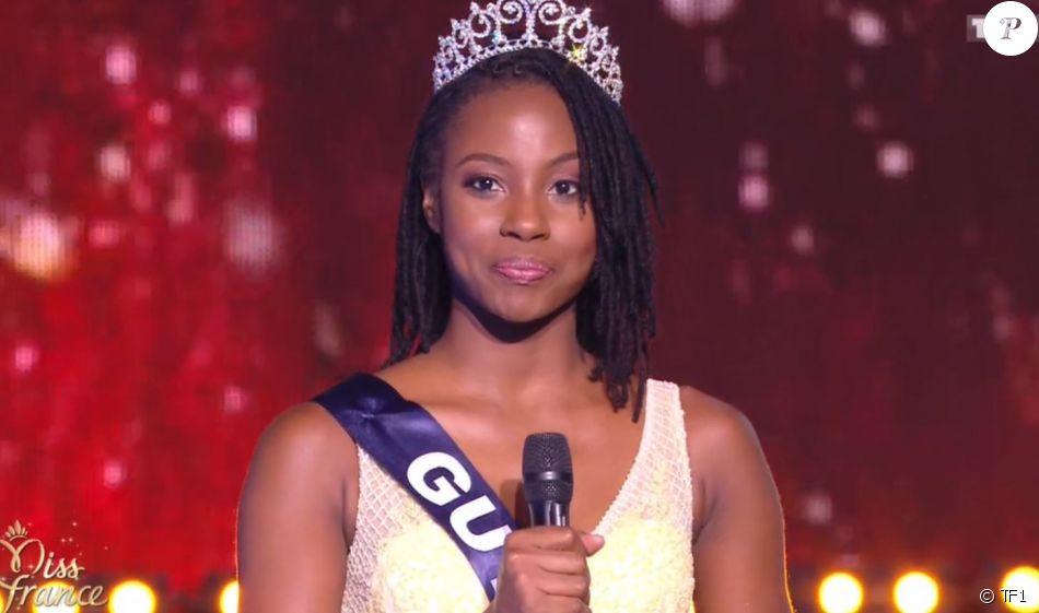 Miss guyane ruth briquet demi finaliste concours miss france 2018 sur tf1 le 16 d cembre - Miss france guyane 2017 ...