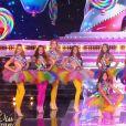 Les Miss en tenue de fête forraine - Concours Miss France 2018. Sur TF1, le 16 décembre 2017.