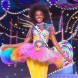 Miss Martinique : Laura-Anaïs Abidal - Concours Miss France 2018. Sur TF1, le 16 décembre 2017.
