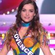 Miss Provence : Kleofina Pnishi - Concours Miss France 2018. Sur TF1, le 16 décembre 2017.