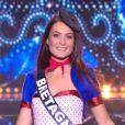 Miss Bretagne :   Caroline Lemée             en tenue du 14 juillet - Concours Miss France 2018. Sur TF1, le 16 décembre 2017.