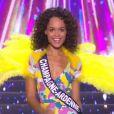 Miss Champagne-Ardenne : Safiatou Guinot en maillot de bain  - Concours Miss France 2018. Sur TF1, le 16 décembre 2017.