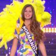 Miss Normandie : Alexane Dubourg en maillot de bain  - Concours Miss France 2018. Sur TF1, le 16 décembre 2017.