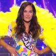 Miss Picardie : Paoulina Prylutska en maillot de bain  - Concours Miss France 2018. Sur TF1, le 16 décembre 2017.