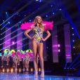 en bikini - Concours Miss France 2018. Sur TF1, le 16 décembre 2017.