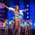 Miss Nord-Pas-De-Calais : Maëva Coucke             en maillot de bain - Concours Miss France 2018. Sur TF1, le 16 décembre 2017.