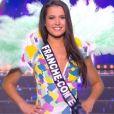 Miss Franche-Comté : Mathilde Klinguer             en maillot de bain - Concours Miss France 2018. Sur TF1, le 16 décembre 2017.