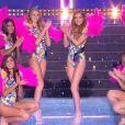 Les Miss régionales en maillot de bain - Concours Miss France 2018. Sur TF1, le 16 décembre 2017.