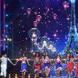 Les Miss célèbrent le 14 juillet - Concours Miss France 2018. Sur TF1, le 16 décembre 2017.