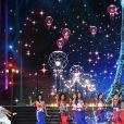 Les Miss en tenues 100% françaises - Concours Miss France 2018. Sur TF1, le 16 décembre 2017.