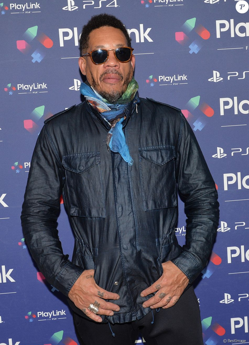 JoeyStarr - Soirée de lancement de PlayLink de PlayStation au Play Link House à Paris, France, le 12 octobre 2017. © Veeren/Bestimage