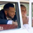 """Caroline et Raphaël se sont mariés dans l'émission """"Mariés au premier regard"""" sur M6. Le 13 novembre 2017."""