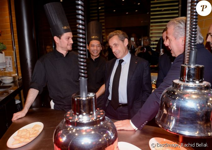 Semi exclusif nicolas sarkozy inauguration de la - La table libanaise la fourchette ...