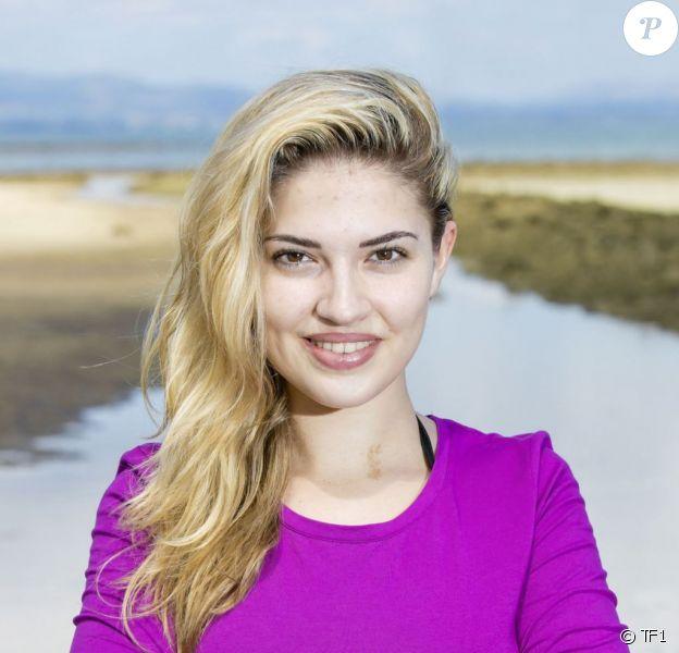 """Tiffany, 22 ans, étudiante en art dramatique et candidate de """"Koh-Lanta Fidji"""" sur TF1."""