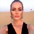 Maëva Coucke le 19 août 2017 à Dubaï.