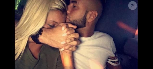 Aurélie Dotremont et son homme le DJ Ali Karimi, octobre 2016.