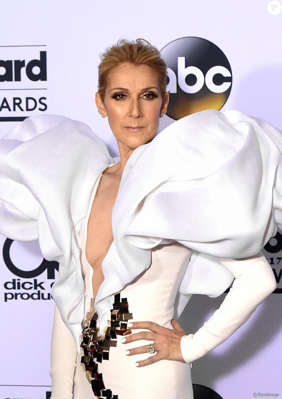 Celine Dion à la soirée Billboard awards 2017 au T-Mobile Arena dans le Nevada, le 21 mai 2017 © Chris Delmas/Bestimage