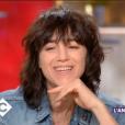 Extrait de l'émission C à vous avec Charlotte Gainsbourg comme invitée - France 5 le 19 décembre 2017